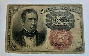 FR 1265  FIFTH ISSUE MEREDITH  TEN CENTS FRACTIONAL CURRENCY