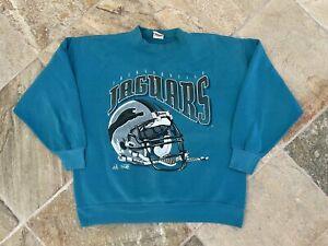 Vintage Jacksonville Jaguars Riddell Football Sweatshirt, Size XL