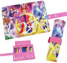 Anime Sailor Moon Reel Scroll Pencil Stationary Storage Wallet Bag CC12