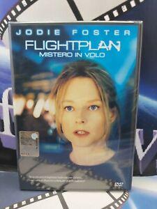 FLIGHTPLAN MISTERO IN VOLO Con Jodie Foster DVD NUOVO