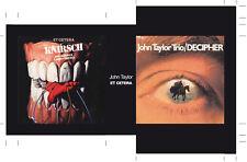 JOHN TAYLOR TRIO + ET CETERA EMPTY BOX FOR JAPAN MINI LP CD MPS LABEL BOX   G03
