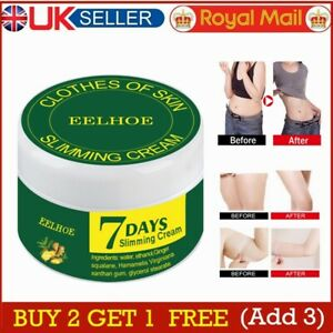 Fast Ginger Fat Burning Anti-cellulite Slimming Cream Gel  Full Body Weight Loss