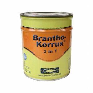 """Brantho Korrux """"3 in 1"""" 0,75 l 7032 Kieselgrau"""
