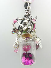 KIRKS FOLLY ~~NEVER RELEASED~~ CUPIDS HEART FANTASY BOTTLE NECKLACE ~~~NEW~~  ST