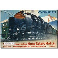 Chemin de fer MÄRKLIN catalogue principale Millésime D 15 1938/39 LP reichsmark 64 p. 30er