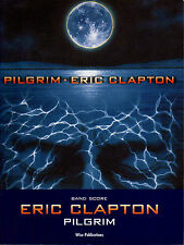 Eric CLAPTON Pilgrim Band Score Guitar drums bass keyboard Music Book shopsoiled