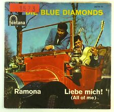 "7"" Single - Die Blue Diamonds - Ramona / Liebe Mich! - S1438 - washed & cleaned"