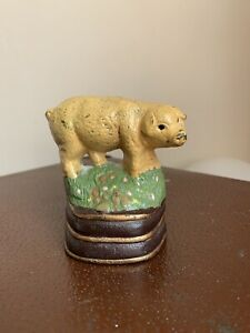 Cast Iron Pig Door Stop / Door Opener