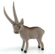 Wagner Kunstlerschutz Ibex Wild Goat 4in 1980s Toy Figure Putz Label Vintage