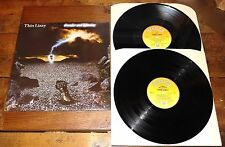 "THIN LIZZY ~ THUNDER AND LIGHTNING ~ UK VINYL LP + UK LIVE VINYL 12"" 1983"