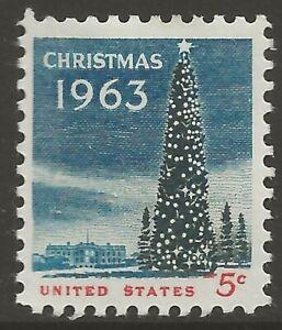 U.S. #1240 5¢ National Christmas Tree MINT-LH F-VF