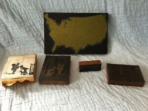 Wholesale Lot Vintage Copper Stamp Printing Blocks,Business/Industrial.Graphic.