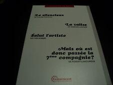 LE SILENCIEUX / LA VALISE / SALUT L'ARTISTE / MAIS OU EST DONC PASSEE LA 7EME CO