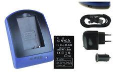 Baterìa+Cargador (USB) EN-EL20 para Nikon 1 AW1, J1, J2, J3, S1 / Coolpix A