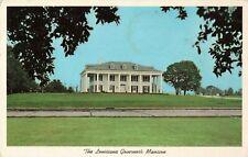 Postcard Governor's Mansion Baton Rouge Louisiana