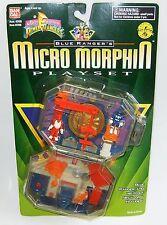 Power Rangers Blue Ranger Micro Morphin Playset