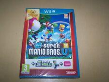New Super Mario Bros U + New Super Luigi U Wii U  **New & Sealed**