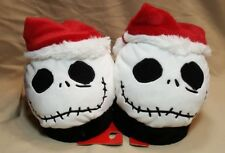 THE NIGHTMARE BEFORE CHRISTMAS JACK HEAD SANTA SLIPPERS~L (2-3)~SEE DESCRIPTION