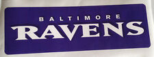 "Baltimore Ravens Fathead Team Banner Sign 16"" x 5"" Official Nfl Wall Graphics"