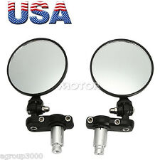 "7/8"" Handle Bar End Rearview Side Mirrors For KTM Super Duke 200 390 690 1290"