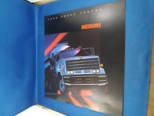 CHEVY TRUCKS 1985 MEDIUMS SALES DEALER BROCHURE CONVENTIONAL SERIES 50 60 70