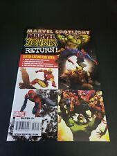 Marvel Spotlight Marvel Zombies Return #1 - Hulk Wolverine - (2009 First Print)