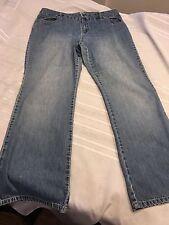 Liz Claiborne Boot Cut Jeans Sz 16 Ladies boot cut Faded