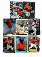 29 count lot mixed Rafael Devers Rookie Cards RED SOX RC LOT 9 different
