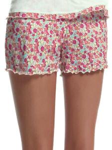 L (14) Freya Cindy Pyjama Shorts 95% Cotton 4924 Bottoms PJ Nightwear Loungewear