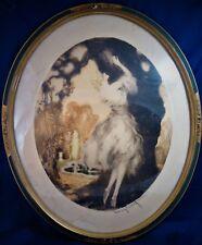 ICART EAU FORTE ORIGINALE  FIDELITE  1927 signée numérotée 60x50 cm Réf/A/24/21