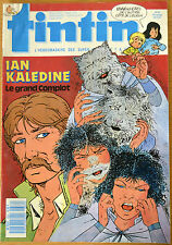 BD Comics Magazine Hebdo Journal Tintin No 43 42e 1987 Ian Kaledine