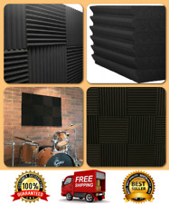 Acoustic Wall Panels Sound Proofing Foam Material Pads Studio Decor Wedge Tiles