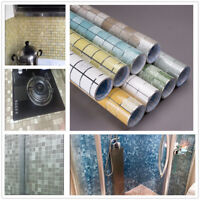 Kitchen Self adhesive Oil-proof Waterproof Wallpaper Mosaic Tile Stickers Decor