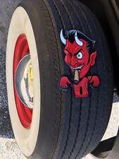 License plate topper Devil tin mechanical  Red LUCIFER Satan GREAT CAR ACCESSORY