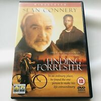 Finding Forrester DVD Sean Connery PAL Region 2 Widescreen FREE POSTAGE