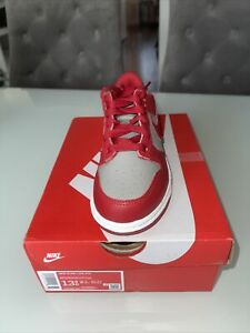 Brand New Nike Dunk Low University Red UK 13C / US 13.5C (PS)