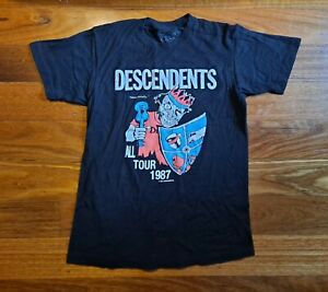 Descendents  All Tour 1987 Tshirt M Black I Wasn't Around brand