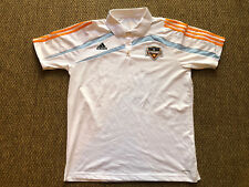 Adidas Houston Dynamo White Soccer Jersey / Polo Shirt Men/Adult XL