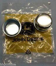 (2) John Deere Front Yoke/Caster DUST COVER CAPS/ 717 717A 727 727A GREAT DANE