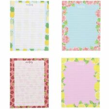 4pack Fruit Designs Notepads Notebooks Memo Pad Lined Paper Pocket 425x55