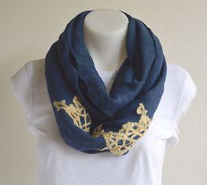Cashmere Infinity Scarf Neck Pashmina Cowl Women Wool Soft Warm Winter New Neck