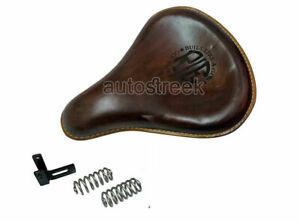 Royal Enfield Bullet Standard Seat 500 cc 350 CC Front Leather Antique Color