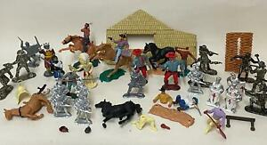 Vintage Britains Timpo Lone Star Soldiers Cowboys Horses etc. - Spares & Repairs