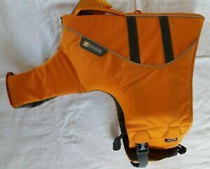Ruffwear Hundeschwimmweste Schwimmweste Gr. L orange Float Coat unbenutzt 81-91