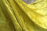 Piece of fabric natural silk gold-yellow colour  240 long and 180 wide in cm.