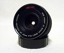 """OE KONICA Hexanon AR f/1.8 40mm Prime """"Pancake"""" Lens SLR Film Camera DSLR Sony"""
