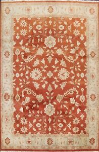 Traditional Oushak Oriental Floral Area Rug Wool Hand-knotted 9'x12' Living Room