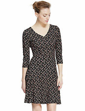 Marks and Spencer Viscose Casual Skater Dresses for Women