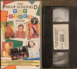 THE PHILIP SCHOFIELD POP VIDEO SHOW VOL 1 (MUSIC)-VHS VIDEO.
