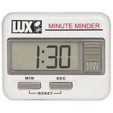 Lux CU100 Count Up / Count Down Electronic Minute Minder Timer